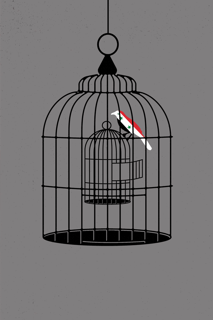 Syrian Bird: 6th International Socio-Political Poster Biennial Auschwitz, Poland – 2016