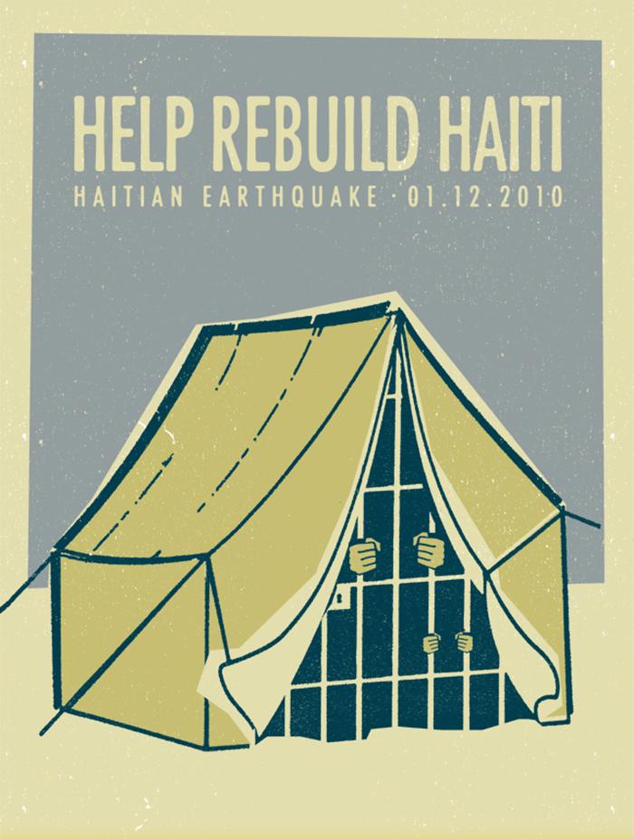 Help Rebuild Haiti: Haiti poster project – 2010